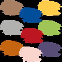 Bunte-Farbe