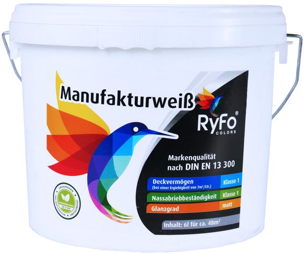 RyFo Colors Manufakturweiß 6l