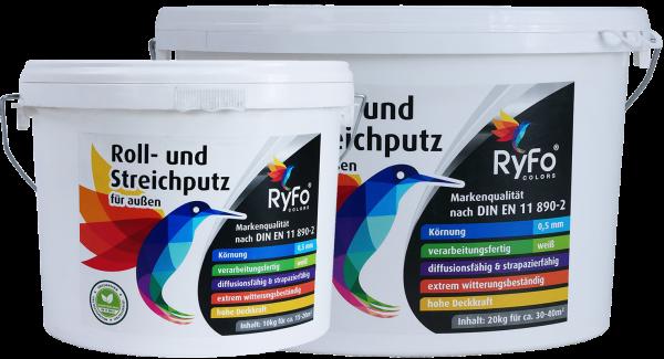 RyFo Colors Roll- und Streichputz für außen