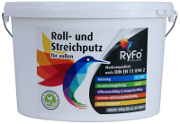 RyFo Colors Roll- und Streichputz für außen 20kg